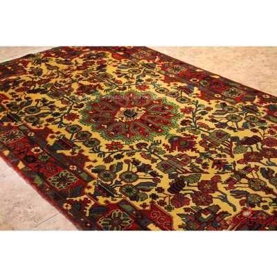 فرش دستباف نهاوند کرم کد 108106
