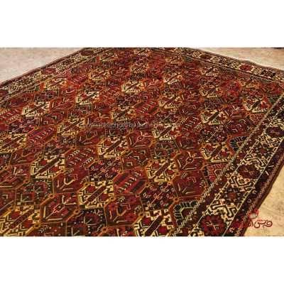 فرش دستباف بختیاری لاکی کد 107148