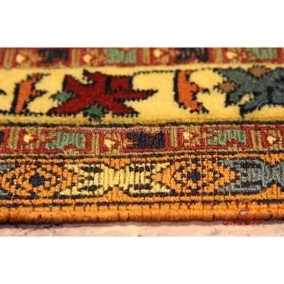 گلیم فرش دستباف سیرجان نارنجی کد 106715