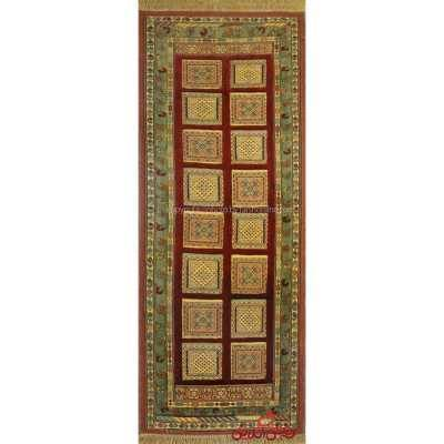 گلیم فرش دستباف سیرجان لاکی کد 105292