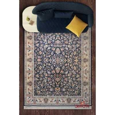 فرش ماشینی نارمک  طرح نیلی فیلی