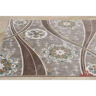 فرش ماشینی ساوین کد 1513آبی