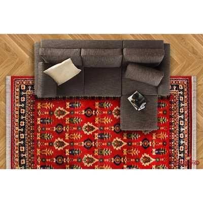 فرش ماشینی ساوین طرح سارگل لاکی