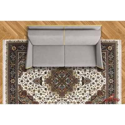 فرش ماشینی توس مشهد طرح هریس کرم