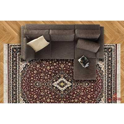 فرش ماشینی توس مشهد طرح کاشان لاکی