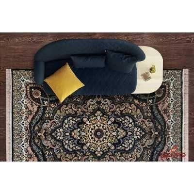 فرش ماشینی توس مشهد طرح پارسا سرمه ای