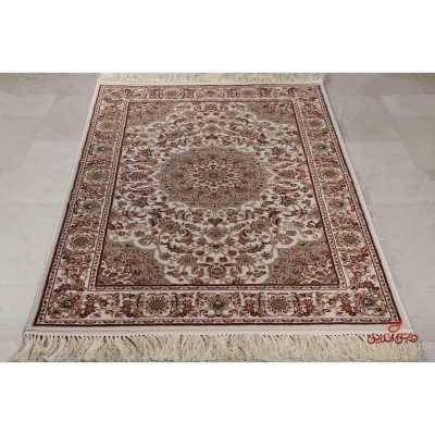 فرش ماشینی عرش طرح اصفهان قهوه ای