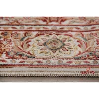 فرش ماشینی عرش طرح اصفهان کرم