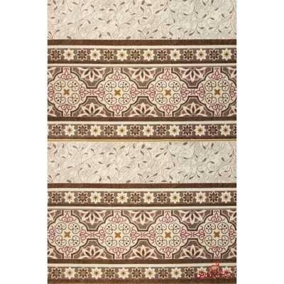 فرش  ماشینی ساوین کد 1502 صورتی
