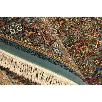 فرش نگین مشهد طرح 2570 رنگ آبی
