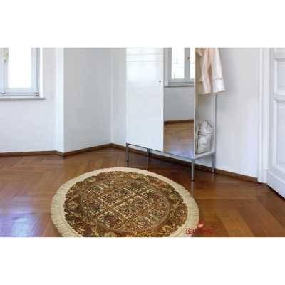 فرش گرد عرش طرح ماندگار کرم