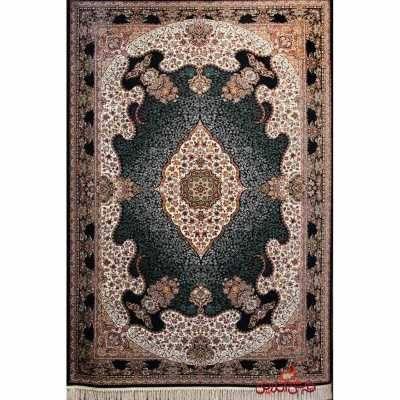 فرش شاهکار صفویه کد 3422 مشکی