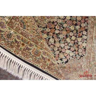 فرش عرش طرح رزقهوه ای