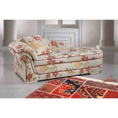 فرش ماشینی ساوین طرح چهل تیکه لاکی