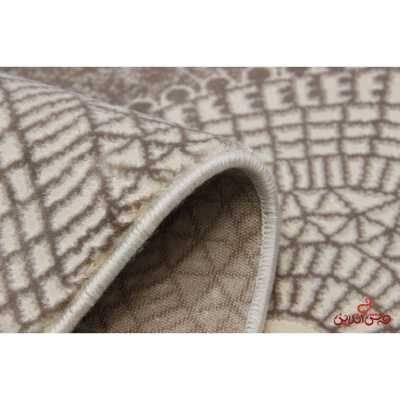 فرش ماشینی  ساوین کد 1503 صورتی
