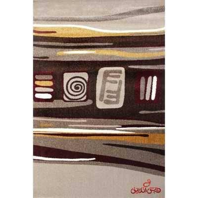 فرش ماشینی  ساوین طرح هدیه شکلاتی