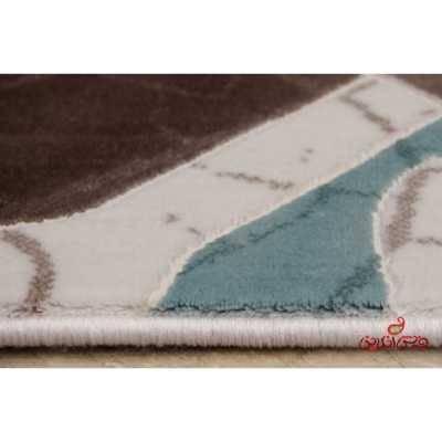 فرش  ماشینی ساوین طرح 1510 آبی