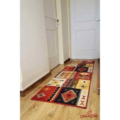 کناره فرش ماشینی ساوین طرح کوکب لاکی