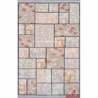 فرش ماشینی ترک طرح برسام کد 6131