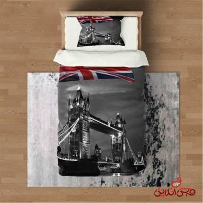 روتختی سه بعدی مدرن طرح پرچم انگلیس کد 3064