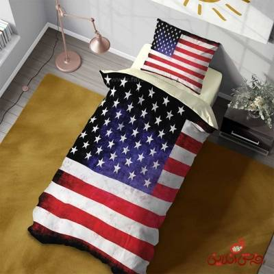 روتختی سه بعدی مدرن طرح پرچم آمریکا کد 3088