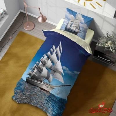 روتختی سه بعدی مدرن طرح کشتی بادبانی کد 3095