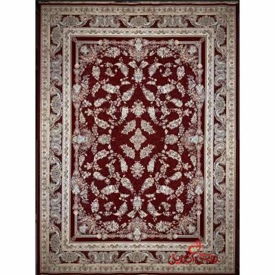 فرش ماشینی شاهکار صفویه 5333 قرمز