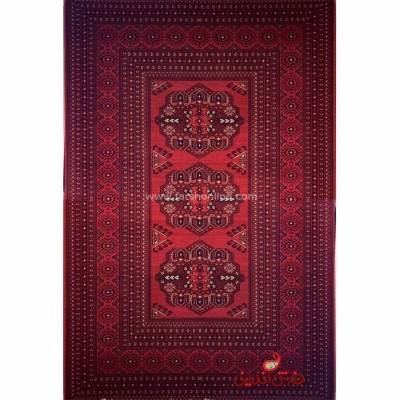 فرش ماشینی شاهکار صفویه 5151 قرمز
