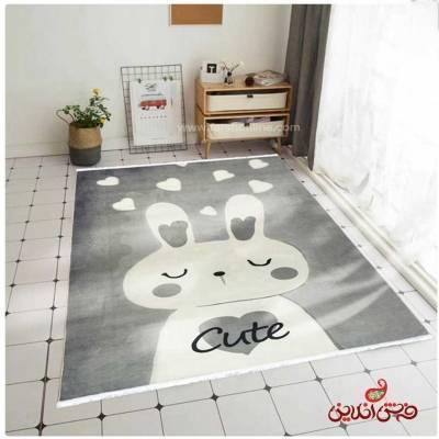فرش ماشینی کودک کلاریس طرح باربی کد 100286