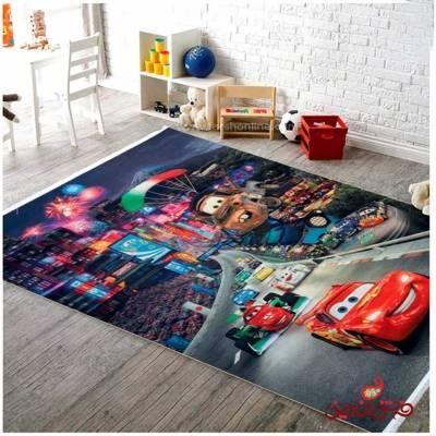 فرش ماشینی کودک کلاریس طرح انیمیشن ماشین ها  کد 100267