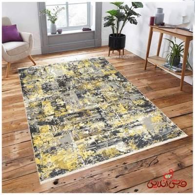 فرش ماشینی  کلاریس  کد 100478