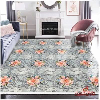 فرش ماشینی  کلاریس  کد 100350