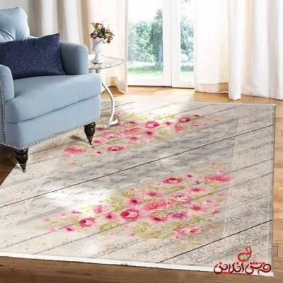 فرش ماشینی  کلاریس  کد 100362