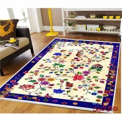 فرش ماشینی  کلاریس  کد 100384