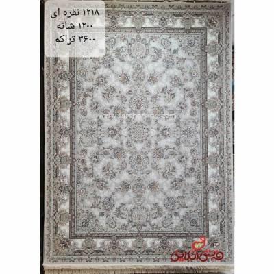 فرش نگین مشهد طرح 1218 نقره ای