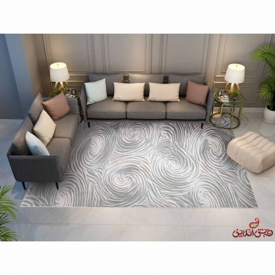 فرش ماشینی پالادیوم سیلور G 0022
