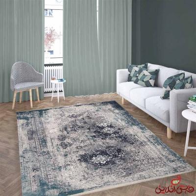 فرش ماشینی برنتین وینتیج کد 16138