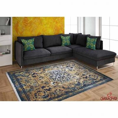 فرش ماشینی برنتین وینتیج کد 17833
