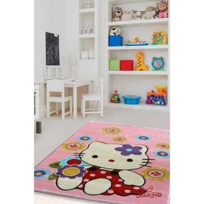 فرش کودک برلیان طرح کیتی کد 2016