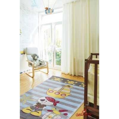 فرش کودک پاتریس طرح دزد دریایی