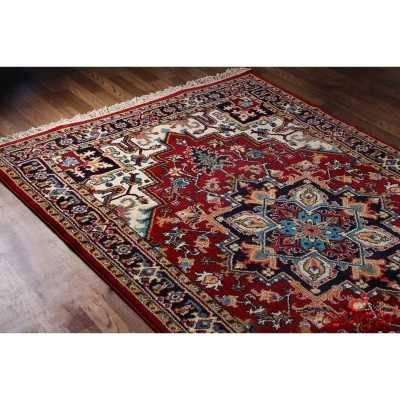 فرش ماشینی  ساوین طرح هریس لاکی(1.5متری)