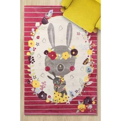 فرش کودک پاتریس طرح شایلی رنگی